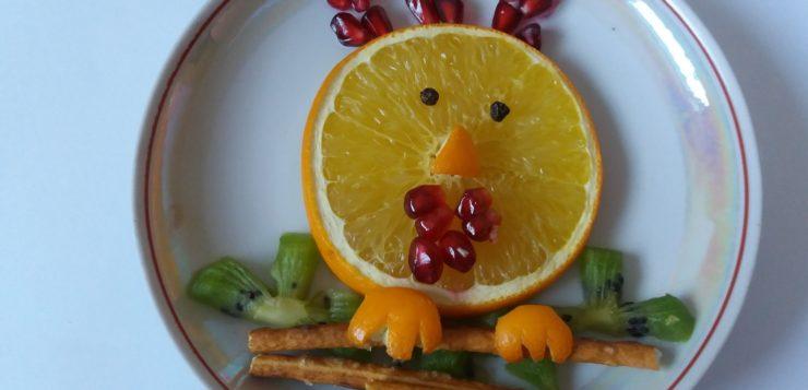 Пепотухал из апельсина на Новый год
